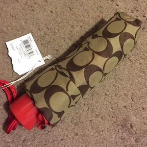 Accessories - Brand-new coach umbrella authentic