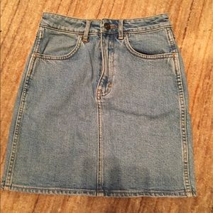 Neuw Dresses & Skirts - High waisted jean skirt