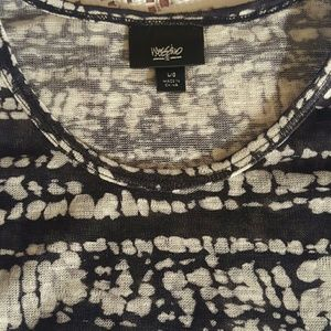 Mossimo Tops - MOSSIMO PATTERN TOP NWOT!!