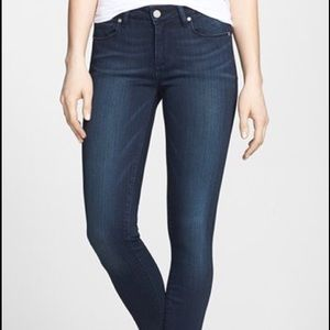Paige Jeans Denim - Paige Verdugo Crop Stretch Skinny Jeans Stevie 26