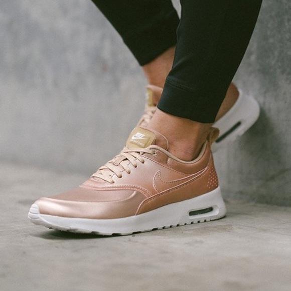 Nike Shoes   Womens Air Max Thea Se Metallic Red Bronze