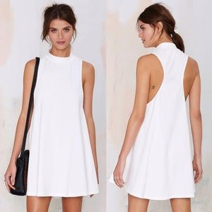 Nasty Gal Dresses - Nasty Gal white mini dress
