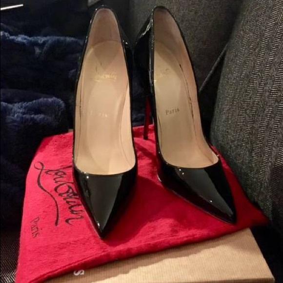 7d44b4503e9a Christian Louboutin Shoes - Christian Louboutin So Kate 120mm black 38 (7.5)
