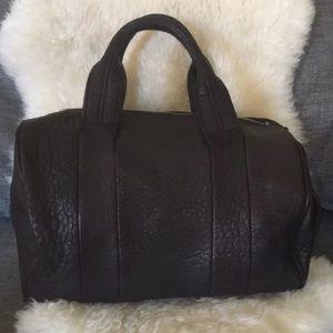 Alexander Wang Handbags - Black Alexander Wang Bag with Silver Stud Rare!
