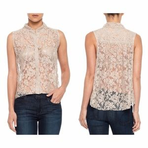 Joe's Jeans Tops - {Joe's Jeans} Abigail Lace Sleeveless Blouse Top