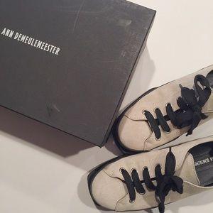 Ann Demeulemeester Shoes - Ann Demeulemeester Suede Low-top sneaker