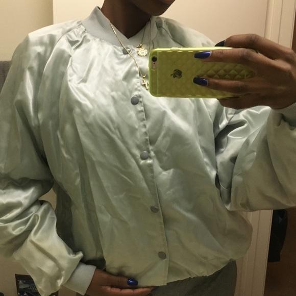 Urban Outfitters Jackets & Coats - Vintage custom randy Travis mint bomber jacket