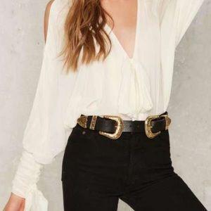 B-Low the Belt Accessories - B-Low the Belt Bri Bri Leather Belt