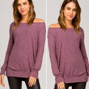 Tops - 🎉HP🎉 5🌟 RATED! Off shoulder slouchy tunic S-L