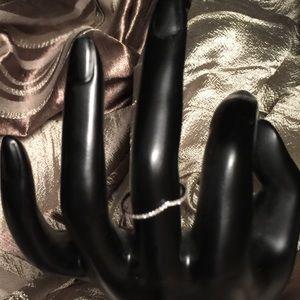 Jewelry - 18K White Gold Diamond Ring 0.15ct