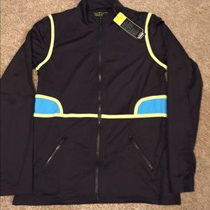 Pure Lime NWT athletic zip jacket!💜