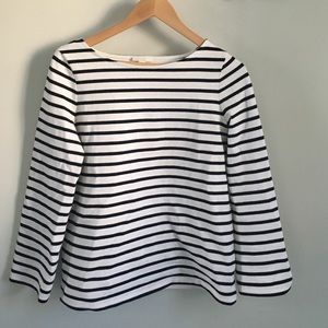 COS striped cotton tee.