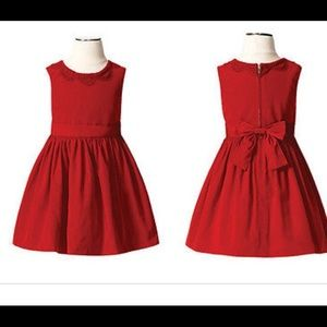 Jason Wu for Target 18mo red taffeta dress euc