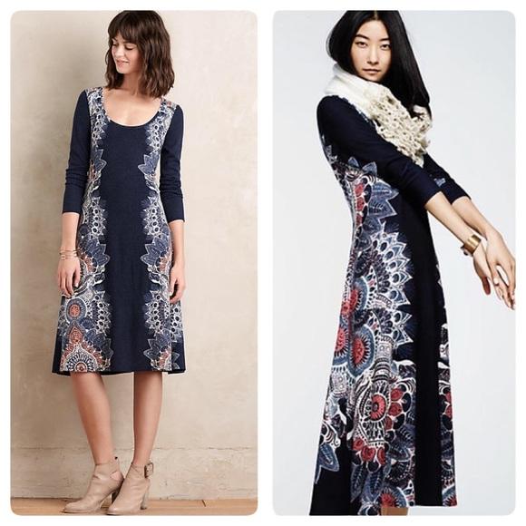 5c3cd856bd68 Anthropologie Dresses | Eira Sweater Dress | Poshmark