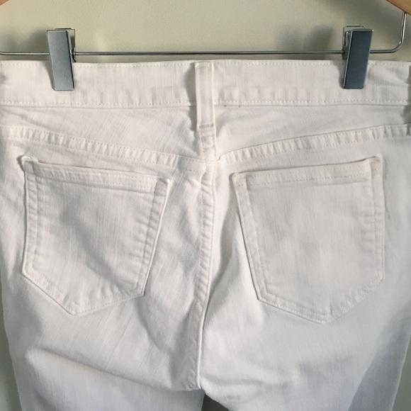 J. Crew Jeans - J. Crew petite Reid cone denim in white