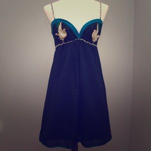 Voom by Joy Han Dresses & Skirts - Voom by Joy Han Navy Cotton Dress