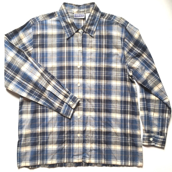 Tops - FINAL PRICE Women's Plaid Button-Down