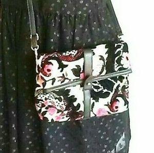 Topshop tapestry crossbody bag