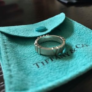 Authentic Tiffany & Co Atlas Collection Ring