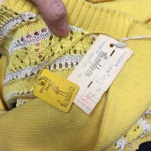 Vintage Sweaters - Vintage 60's Sweater Deadstock