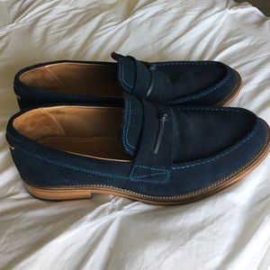 J Shoes Other - J Shoes Men's suede loafers EUC