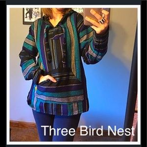 Three Bird Nest Tops - Cozy Oaxaca Baja Hoodie