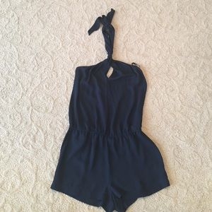 Other - BCBG navy romper size XS