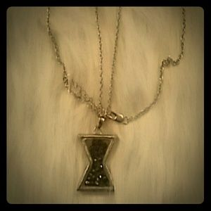 Jewelry - Brand new hourglass pendant necklace!