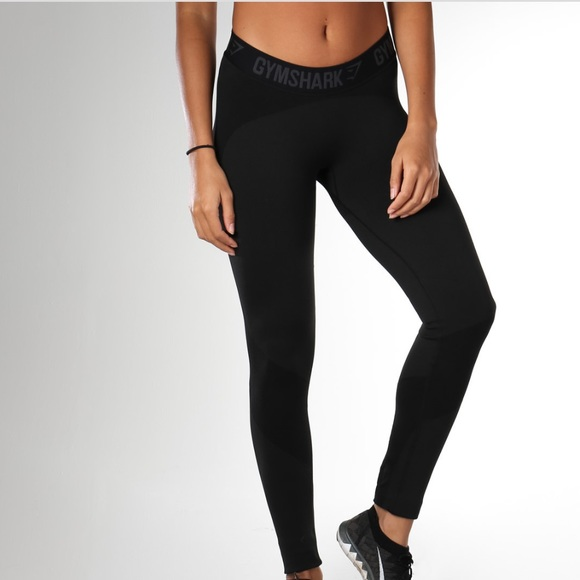 3eeb1510808c4 gymshark Pants | Flex Legging V2 Black Marlcharcoal | Poshmark