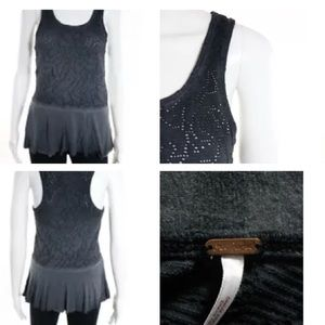FREE PEOPLE PERFORATED DETAIL SLEEVELESS TOP S/P
