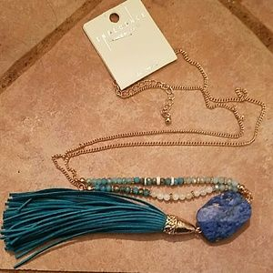 Ladies tassle necklace