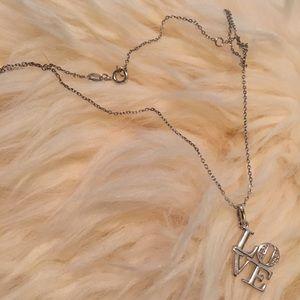 Jewelry - Philadelphia LOVE Necklace