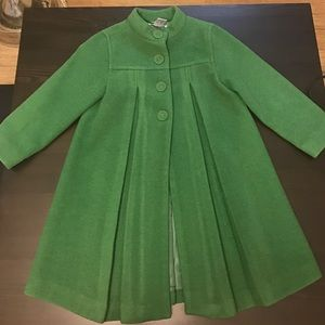 Janie and Jack Other - JANIE and JACK  Toddler Girl's wool blend coat