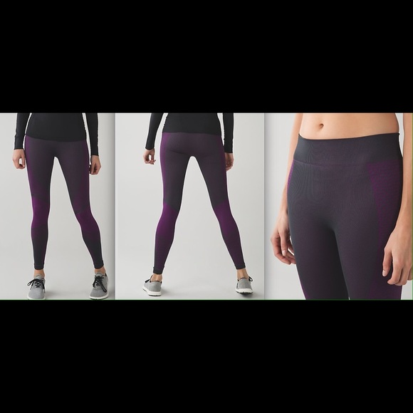 52c283176620f4 lululemon athletica Pants | Lululemon About That Base Tight Black ...