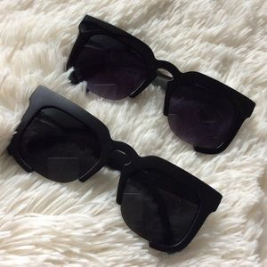 Accessories - 🌟😎Fabulous Black 3/4 Frame Sunnies😎🌟