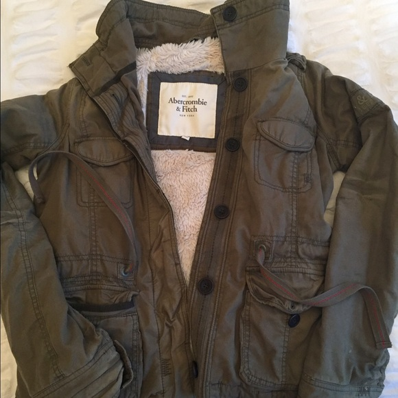 70% off Abercrombie & Fitch Jackets & Blazers - Military style ...