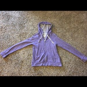 Purple Nollie zip up!