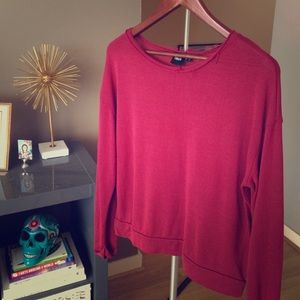 ASOS Oxblood Sweater