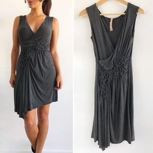 Bailey 44 Dresses & Skirts - Bailey 44 Gray V-neck Dress