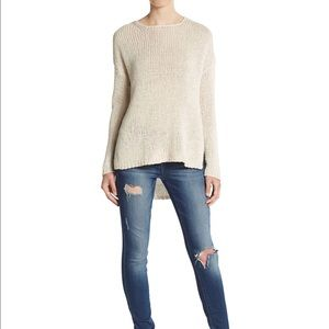 360 Cashmere Sweaters - NWT 360 Cashmere Krissy Cotton & Linen Sweater