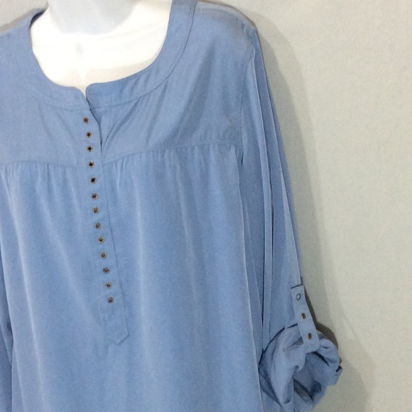 Chico's Tops - Chico's Light Blue Top