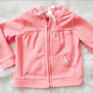 Old Navy Other - Old Navy coral zip up jacket!