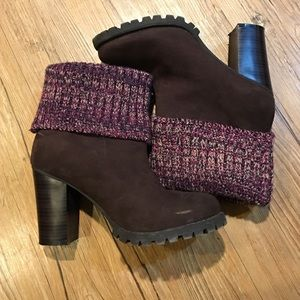 EUC Leila Stone Melly Brown Boots