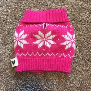 Other - Pink Puppy Christmas Sweater