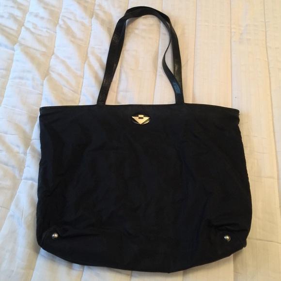 f3197fcd6466 Bottega Veneta Handbags - Vintage Bottega Veneta Nylon Tote