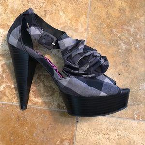 🆑Kensie Girl Open-Toe Heels
