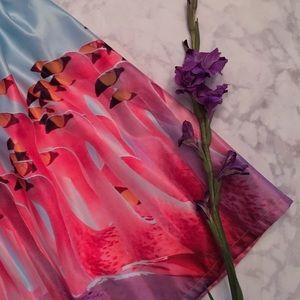 Dresses & Skirts - Sassy Flamingo Midi Skirt