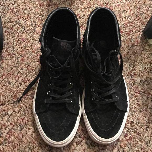 005c6d2278 Black vans moccasins. M 583c9616f0137d087a11cefd