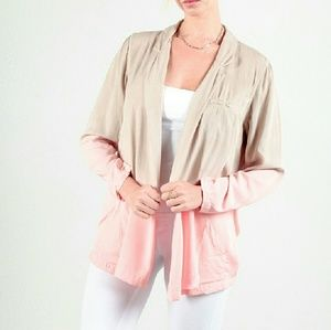 Sweaters - Cute Ombre Coral Cardigan