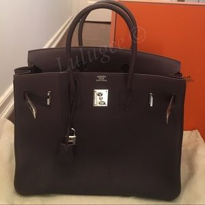 71420e9e6100 ... new arrivals hermes bags additional pictures of authentic hermes birkin  35 7e20e b28b8